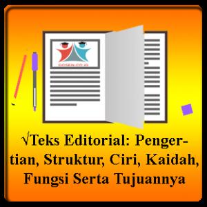 Teks-Editorial