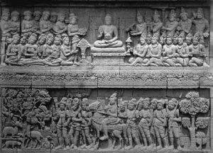 contoh seni patung relief