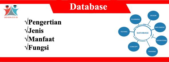 Database: Pengertian, Jenis, Manfaat Serta Fungsi Database