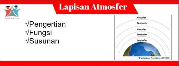 Lapisan Atmosfer: Pengertian, Fungsi dan 5 Susunan Lapisan Atmosfer