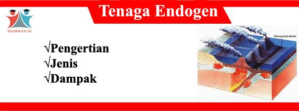 Tenaga Endogen: Pengertian, Jenis-Jenis Serta Dampaknya