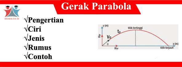 Gerak Parabola: Pengertian, Ciri, Jenis, Rumus dan Contohnya
