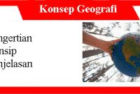 15 Konsep Geografi: Pengertian, Prinsip dan Penjelasannya