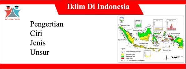 Iklim Di Indonesia: Pengertian, Ciri, Jenis dan Unsurnya