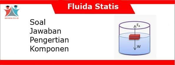 Soal dan Jawaban Fluida Statis: Pengertian dan Komponennya