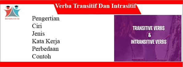 Verba Transitif Dan Intrasitif