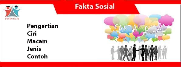 Fakta Sosial