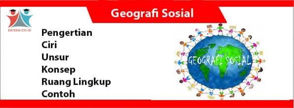 Geografi Sosial