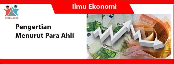 Ilmu Ekonomi