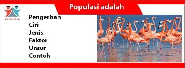 Populasi adalah