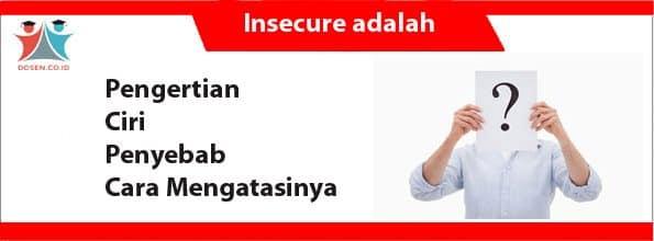 Insecure adalah