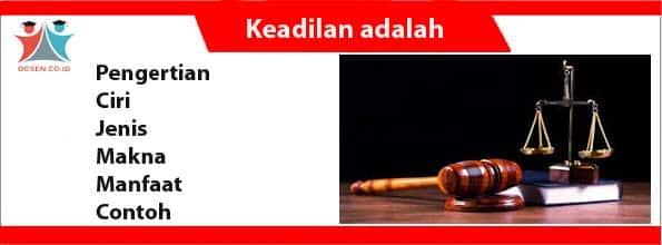 Keadilan adalah
