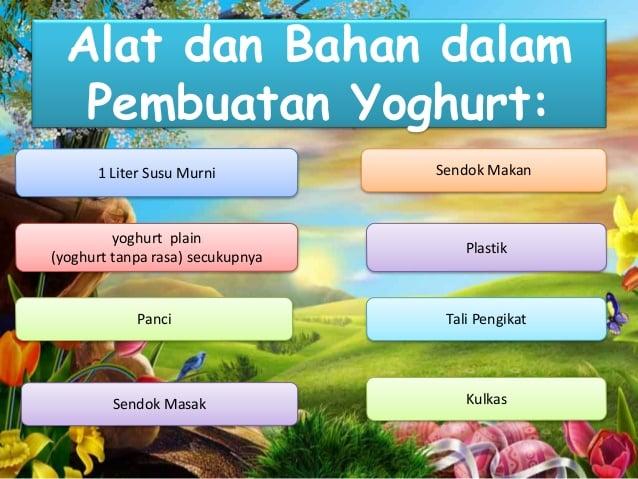 Yoghurt Adalah Proses Kelebihan Bahan Alat Dan Cara