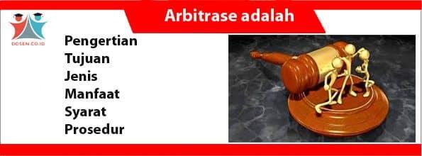 Arbitrase adalah