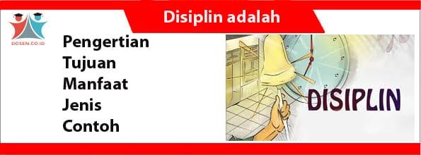 Disiplin adalah
