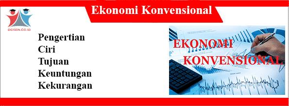Ekonomi-Konvensional