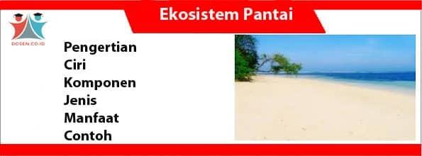 Ekosistem Pantai