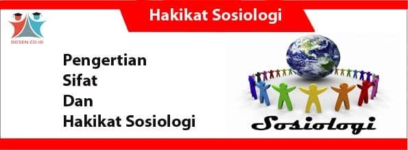 Hakikat Sosiologi