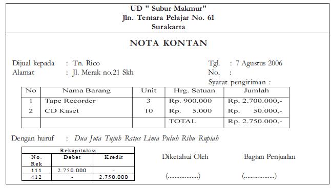 Nota-Kontan