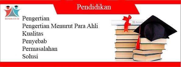 Pendidikan Adalah