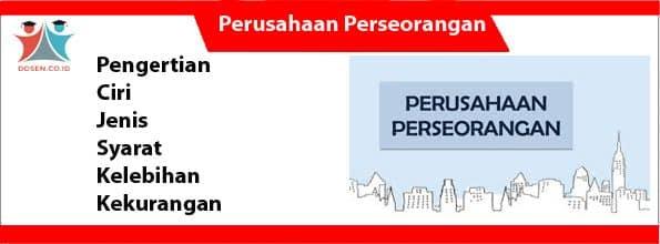 Perusahaan Perseorangan