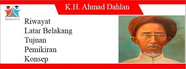 Tokoh K.H Ahmad Dahlan