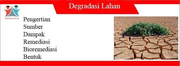 Degradasi Lahan