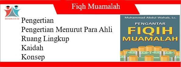 Fiqh Muamalah