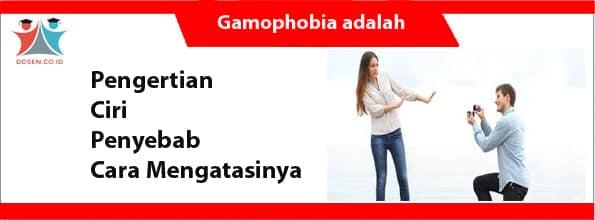 Gamophobia adalah