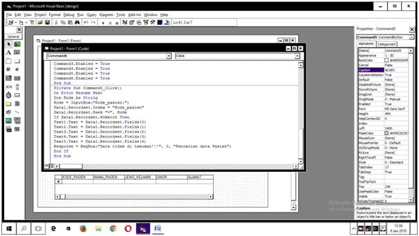 Langkah-langkah Coding