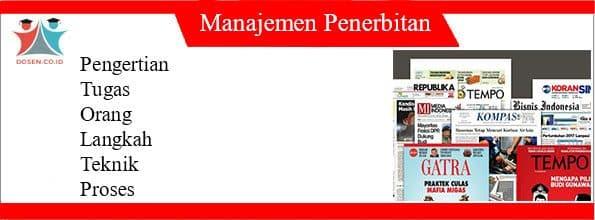 Manajemen Penerbitan
