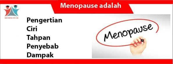 Menopause adalah