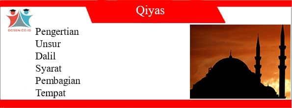 Pengertian Qiyas