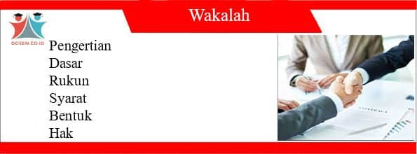 Pengertian Wakalah